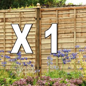 Top Up Wayney Pack With Timber Posts