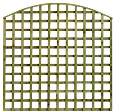 Arched or Concaved Trellis Panels
