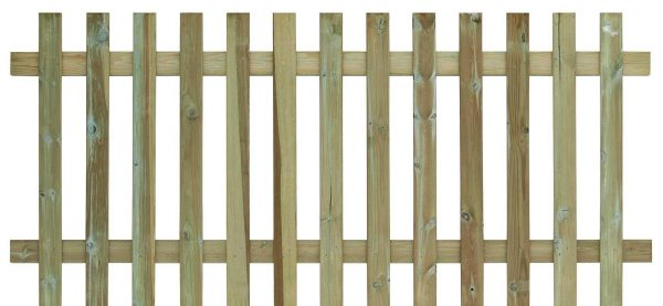 Timber Palisade Fence Panels