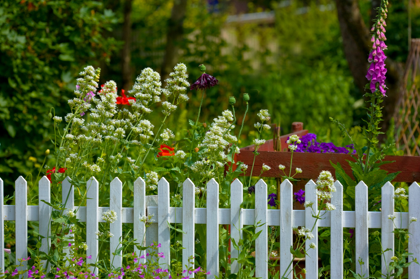 An example of garden fencing from Cheshire Fencing & Landscaping Warrington